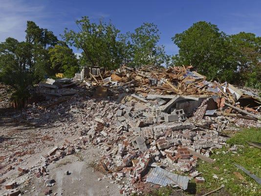 John Sunday House Demolition 1