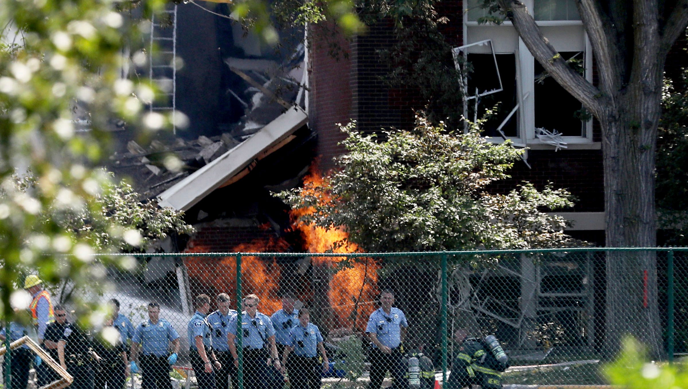 Investigators Probe Minnesota School Explosion That Killed 2