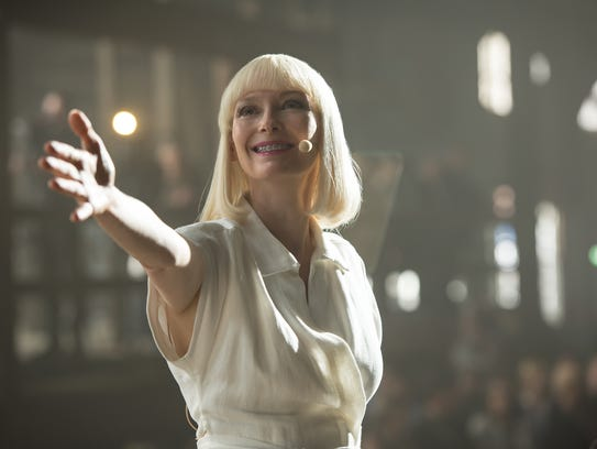 Pharmaceutical CEO Lucy Mirando (Tilda Swinton) hatches