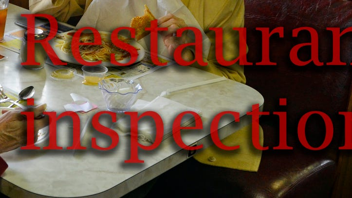 Latest food inspections: 2 out of compliance