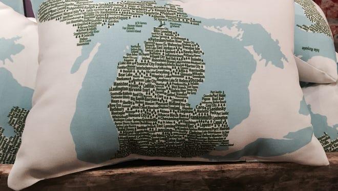It's Michigan. It's a pillow. It's both!
