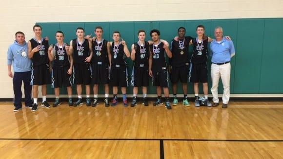 The Enka Basketball Club 17U team.