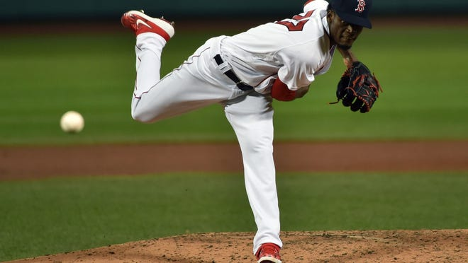 Robinson Leyer became the 12th Red Sox pitcher to start a game this season.