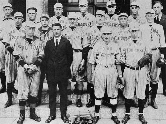 Techoes 1923 Baseball
