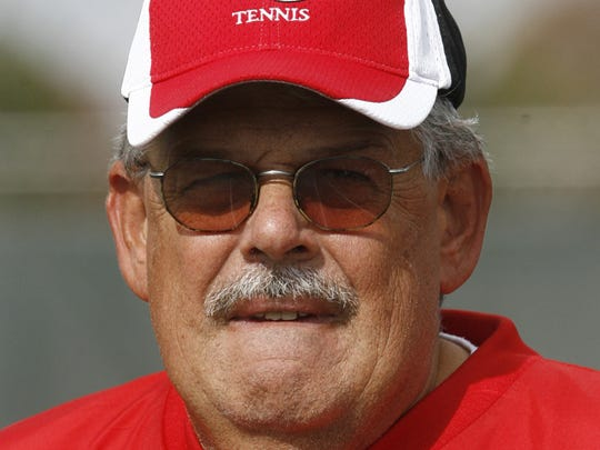 Ivan Smith enters his 40th season as Center Grove boys tennis coach.
