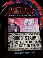 Ringo Starr marquee
