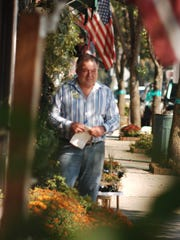 In this 2009 photo, Glen Carullo is shown outside his