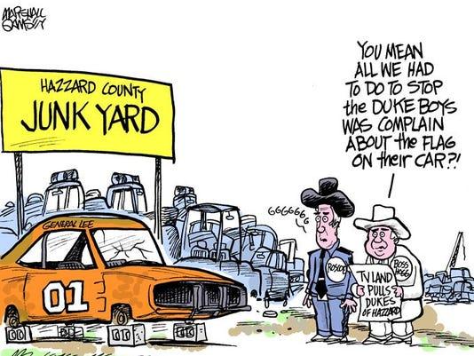 July 3 (Friday) cartoon