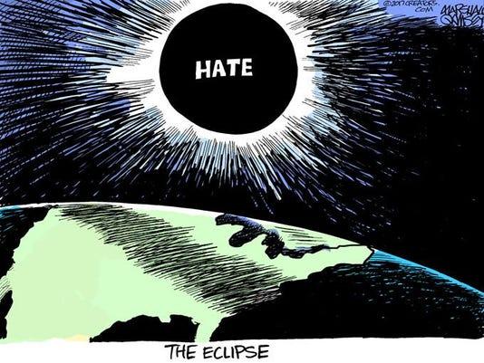 082017 Sunday Hate