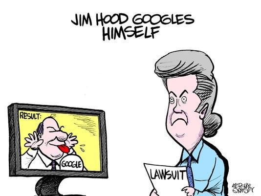 Hood cartoon