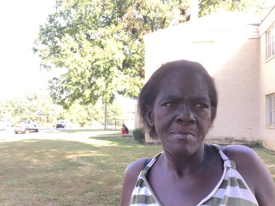 Bobbie Rivers, 58, lives in one of the apartments that