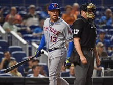 Asdrubal Cabrera doesn't start for Mets after hamstring flares up Tuesday