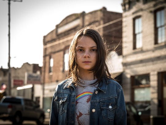 "Dafne Keen is Laura, a Wolverine-like mutant, in ""Logan."""