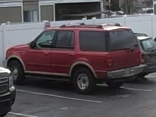 Deputies are seeking information on a 1997 Ford Expedition with Oregon license XEL793.