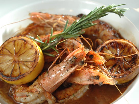 New Orleans style barbecue shrimp is a must when visiting the Big Easy.