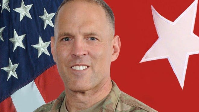 Brig. Gen. Dan Walrath spent much of his time during his Fort Bliss tenure deployed in the Middle East.