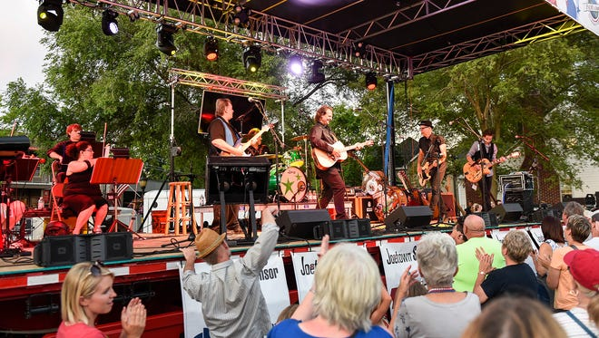 "The Killer Vees took the stage during Joetown Rocks Monday, July 3, in St. Joseph. The Killer Vees headlined Monday's concert with a performance called ""Remembering Bobby Vee."""