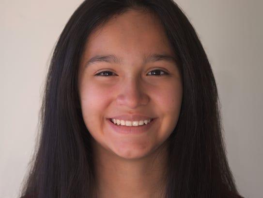 Juliana Esteban, Grade 8, St Leo the Great, Teacher: