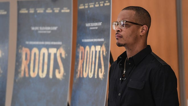 """""""My heart is heavy today,"""" T.I. wrote on Instagram after a shooting at a New York concert where he was supposed to take the stage."""