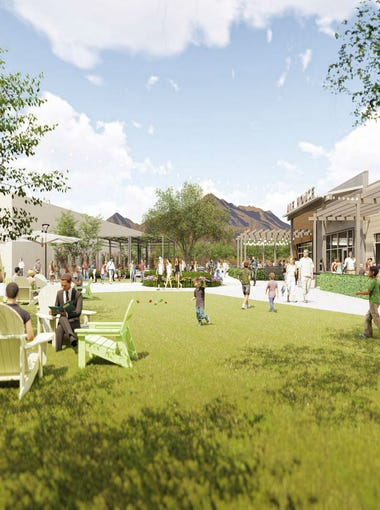 The Trailhead, a commercial project on 83rd Avenue and Happy Valley Road, will feature an upscale Safeway, a church, splash pad, a community garden and a pedestrian walkway connecting it with the adjacent Sunrise Mountain trailheads.