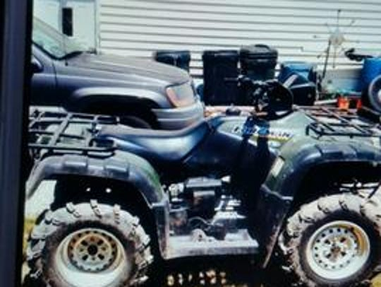 Police are trying to track down this ATV that was reported