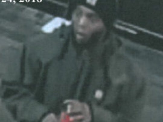 A second image of the arson suspect.