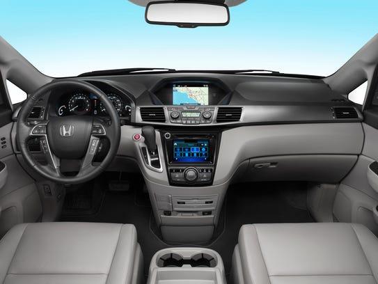 2014 Honda Odyssey dashboard