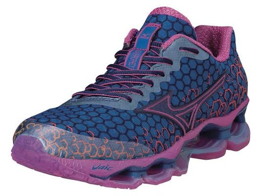 A colorful, lightweight and well-cushioned new running shoe is essential to a great workout, like the Mizuno Wave Prophecy 3, $209.99, mizunousa.com. (MCT)
