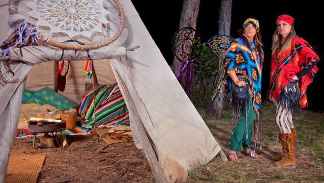 Artist Teresa Montez lures us into her world of Native Daydreams at 3 p.m. Sunday at Sanctuary on the River.