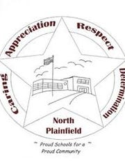New North Plainfield School District logo, developed