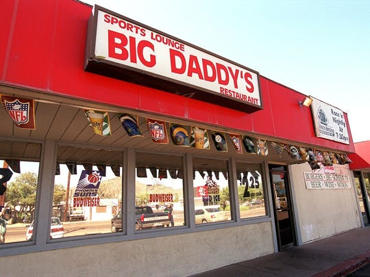 No matter where you sit at Big Daddy's you'll be able to watch the game.