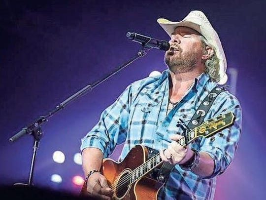 Toby Keith performs June 9 at Heritage Park Amphitheatre