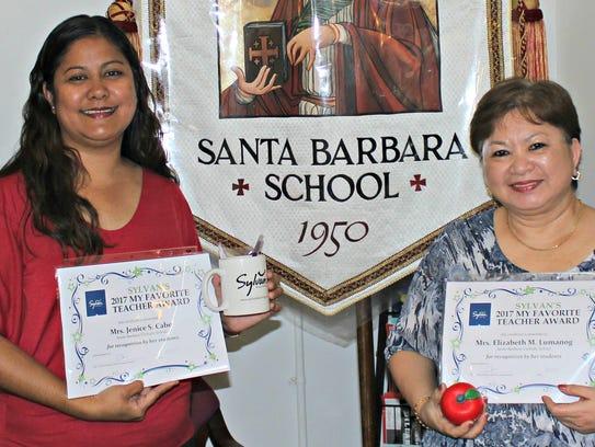 Congratulations to Santa Barbara Catholic School teachers