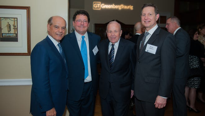 Founding members of Greenberg Traurig gathered to celebrate the firm's 25 years operating in Tallahassee.