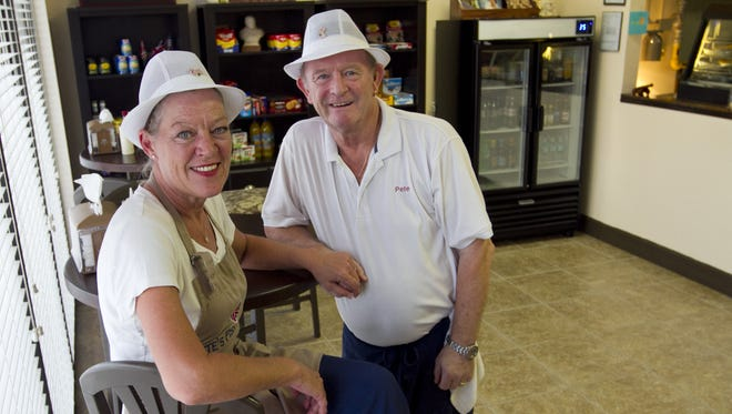 Pete and Dianne Rushton own Pete's Fish & Chips in Cape Coral.