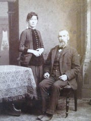 John and daughter, Maggie Murray.  Maggie was one of many siblings who perished from non-pulmonary tuberculosis.