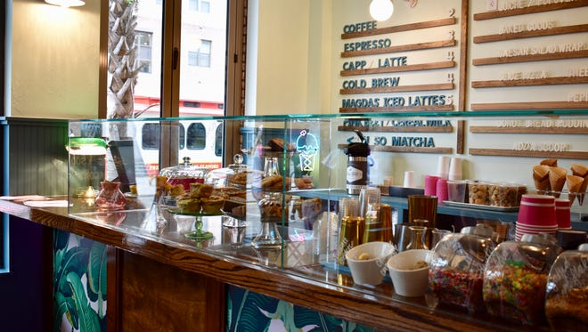 Magda's is a new ice cream shop creation by the owners and operators of Madison Social.