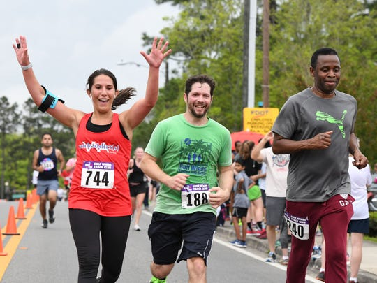 The 50th Annual Springtime Tallahassee Festival's 5k and 10k races downtown on Saturday, April 7, 2018.