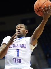 Louisiana Tech freshman Derric Jean is averaging 11