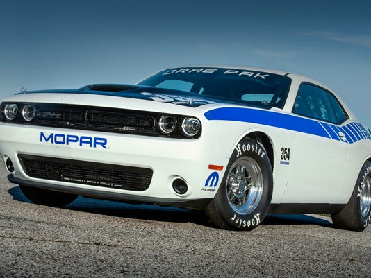 Dodge Offers Supercharged V8s For Drag Racing