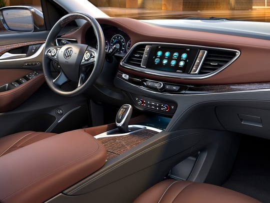 First Drive 2018 Buick Enclave Delivers Luxury Car Style Tech Room