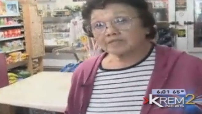 Miyo Koba, an 89-year-old store owner in Spokane, Wash., used a golf club to beat off a suspected robber who wielded a sword.