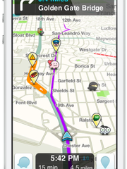 Always find the fastest route to your destination with