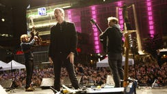 The National performed in 2008 on Fountain Square to