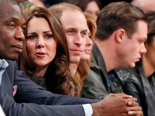 Dikembe Mutombo, Prince William, Duke of Cambridge, Kate, Duchess of Cambridge