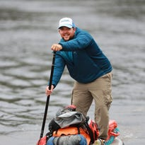 Stingl: Stand up guy paddling entire Wisconsin River