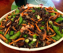 Wild Rice Stir-fry