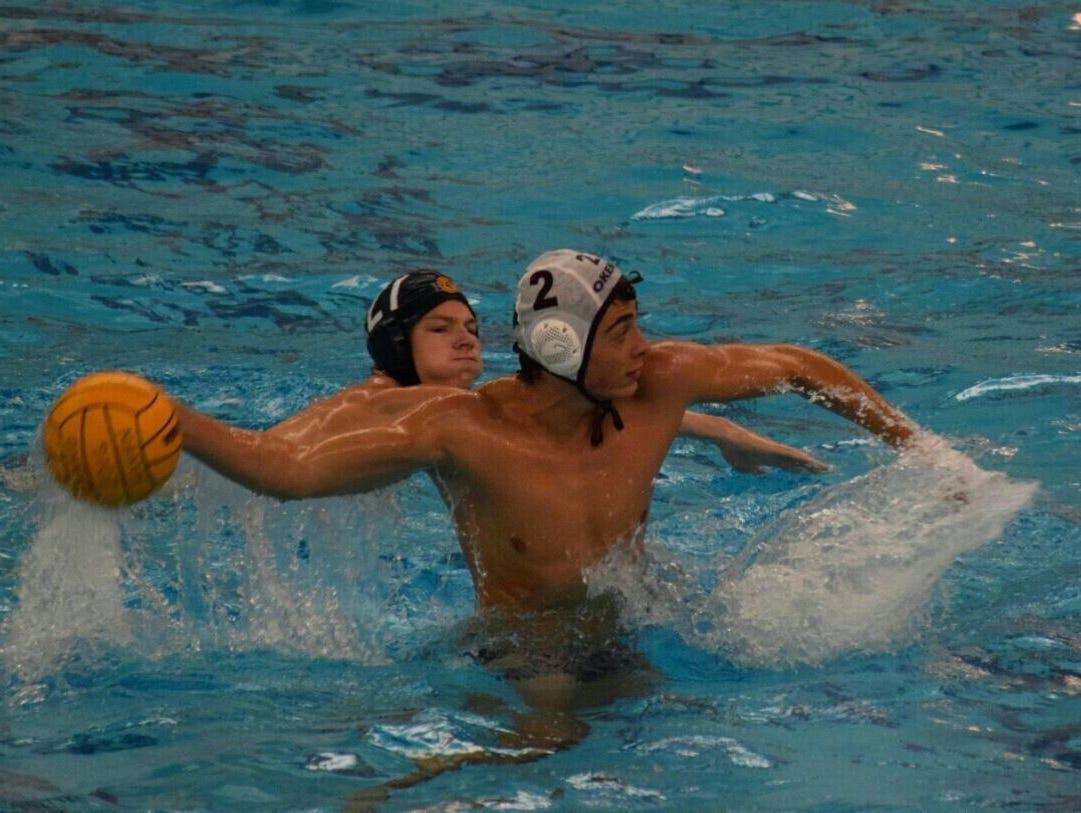 Junior Ewan Woolcock is one of the reasons the Okemos boys water polo team is No. 2 in the state rankings behind Rockford.