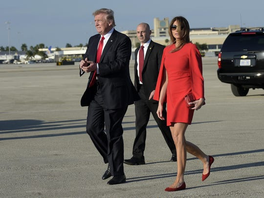 Most of Mrs. Trump's clothes are bought off-the-rack
