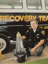 Bo Keck was a deputy with the Muskingum County Sheriff's